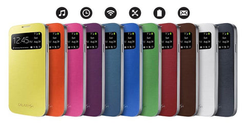 Samsung Galaxy S4 S View Cover Assorted Colours