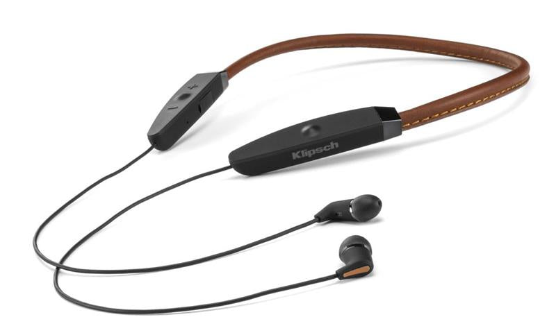 a148e38fcfd43a Klipsch R5 Neckband Wireless In Ear Headphones (Brown) – GIZMOS AND ...
