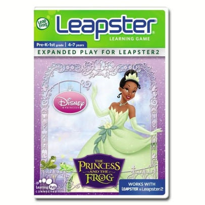 LeapFrog Leapster Learning Game: Disney The Princess and the Frog