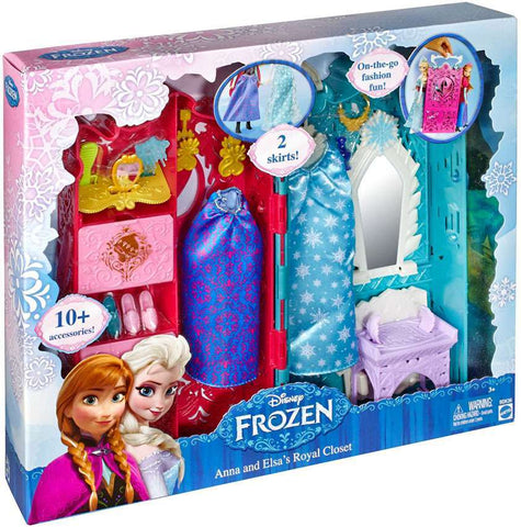 Disney Frozen Anna & Elsa's Royal Closet Playset, Age 3+