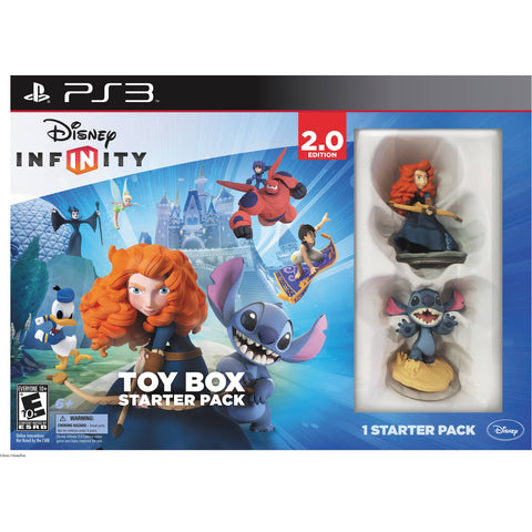 PS3 Disney Infinity Toy Box Starter Pack