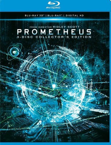 Prometheus 4-Disc Collector's Edition Blu-Ray Disc