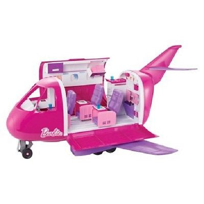 Barbie Glam Jet Vacation Play Set, Pink/Purple Exclusive Airplane