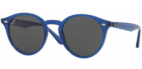 Ray Ban Unisex  RB2180 6165/87 Round Stylish Blue Sunglass-GL