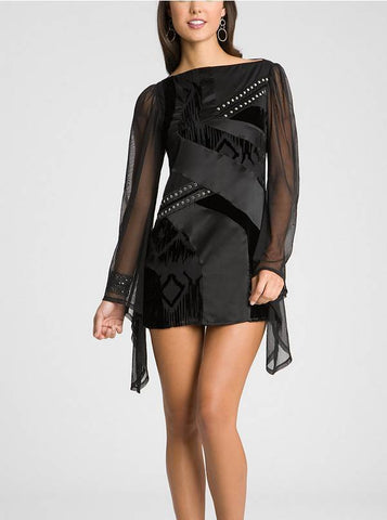 Guess Black Reiko Tunic Dress -SHF