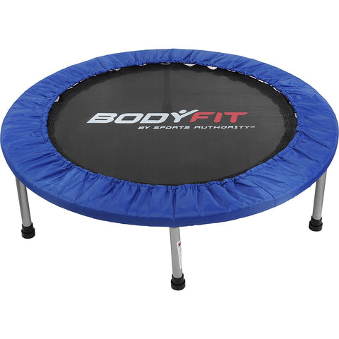"BodyFit By The Sports Authority 38"" Fitness Mini Trampoline Blue/Black"