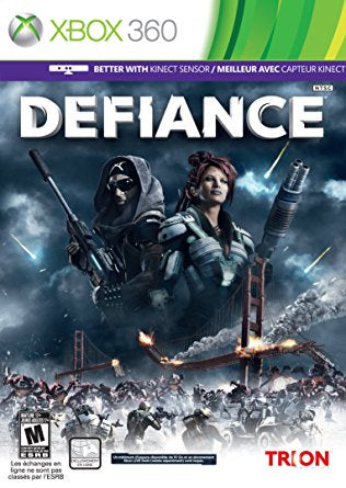 Xbox 360 Defiance Game