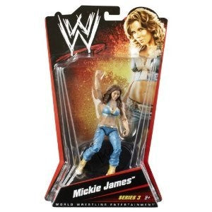 WWE Series 3 Mickie James Figure, Age 6+