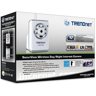 Trendnet Secur View Wireless Day/Night Internet Camera