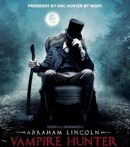 Abraham Lincoln Vampire Hunter Blu-Ray Disc