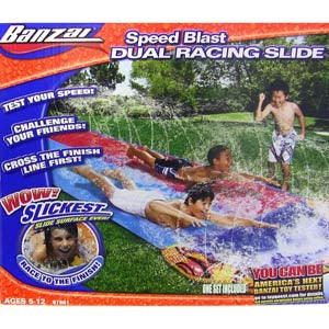 Banzia Speed Blast Dual Racing Lawn Slide
