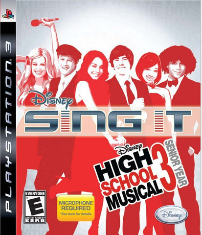 PS3 Disney Sing It - High School Musical 3 Game