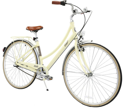 "Columbia 50684480 Women Hampton Vintage 26"" Cruiser Bike - Cream"