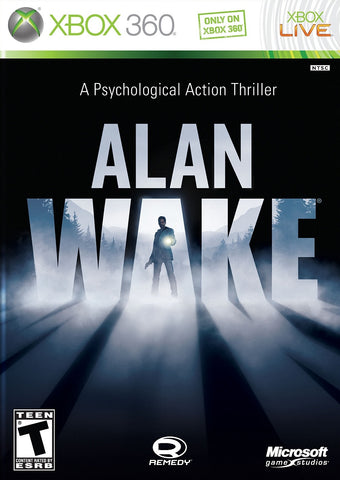 Xbox 360 Alan Wake - A Psychological Action Thriller Game