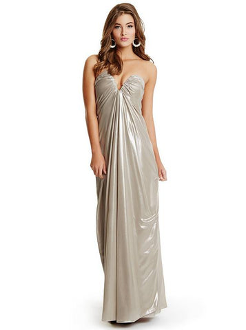 Marciano Women Judy Iridescent Silver Gown-GL