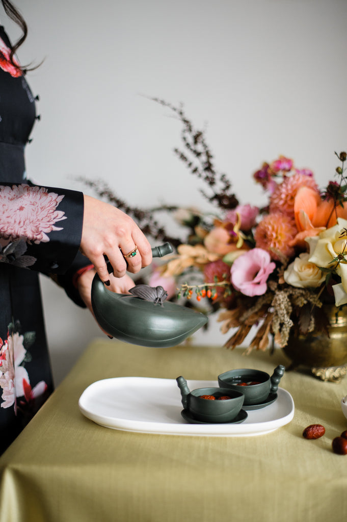 Modern Chinese Tea Ceremony Shoot