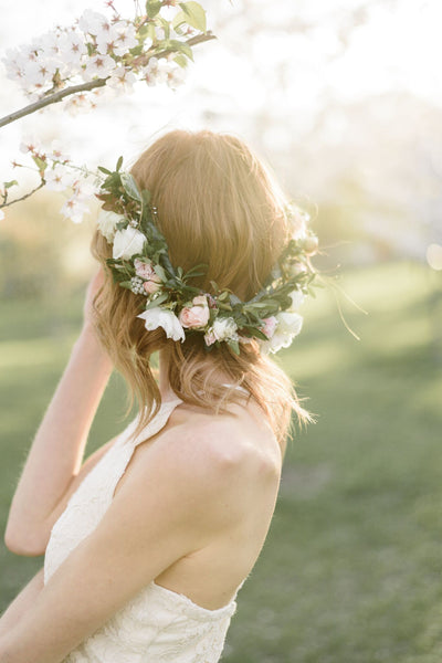 Flower Crown Making Workshop in Toronto - Fun Bachelorette Activity