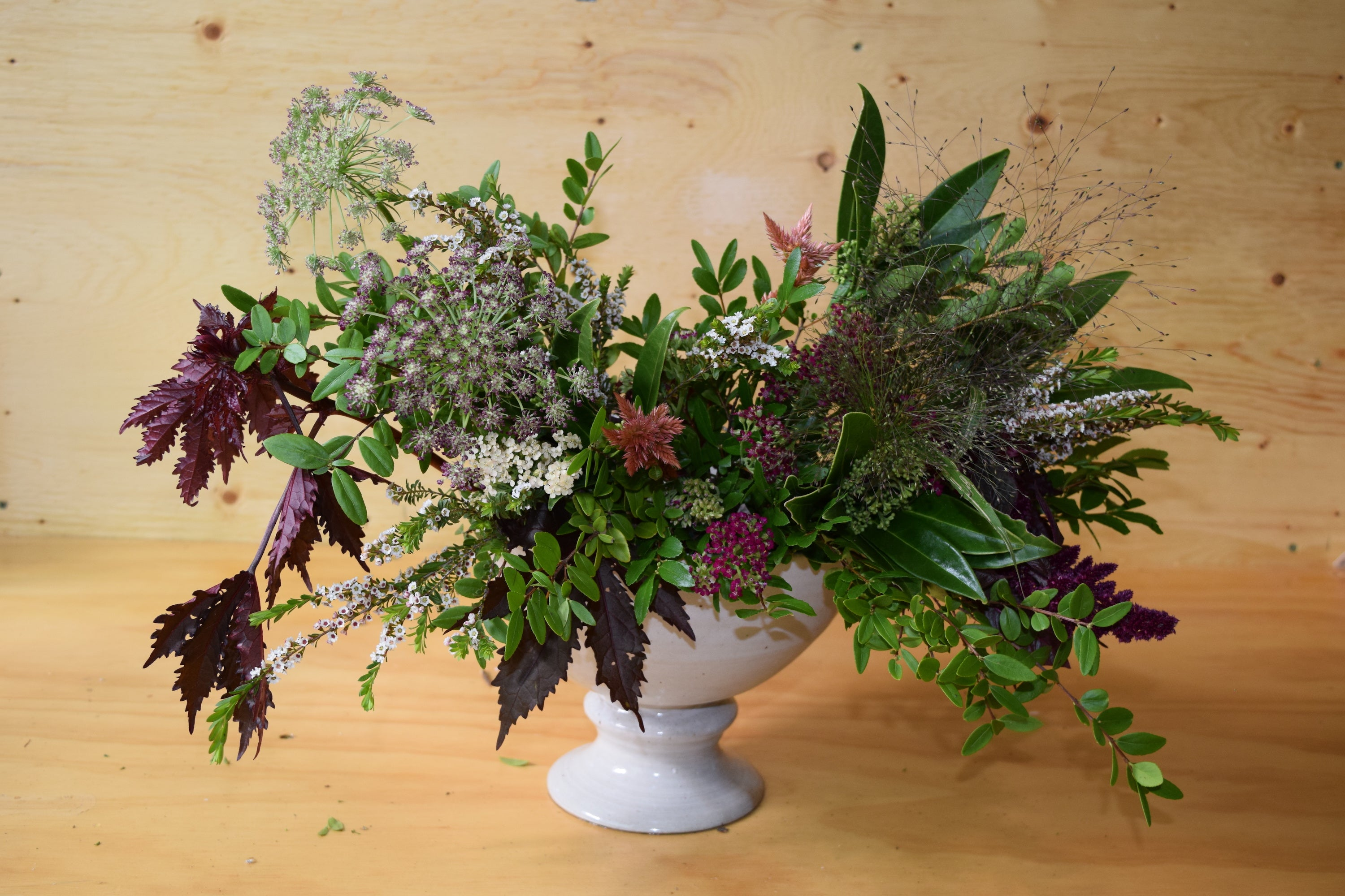 How To Make Your Own Fall Floral Arrangement