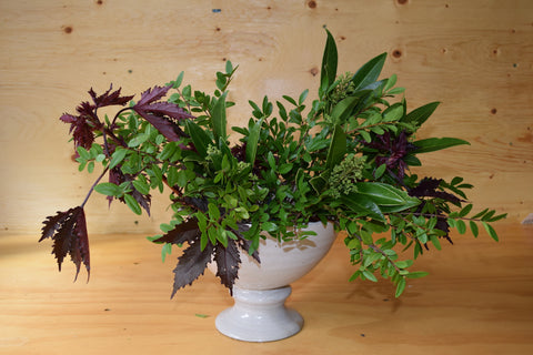 How to make your own fall flower arrangement