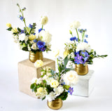 Mini Gold Centrepieces (set of 3) - Wild North Flowers, LP