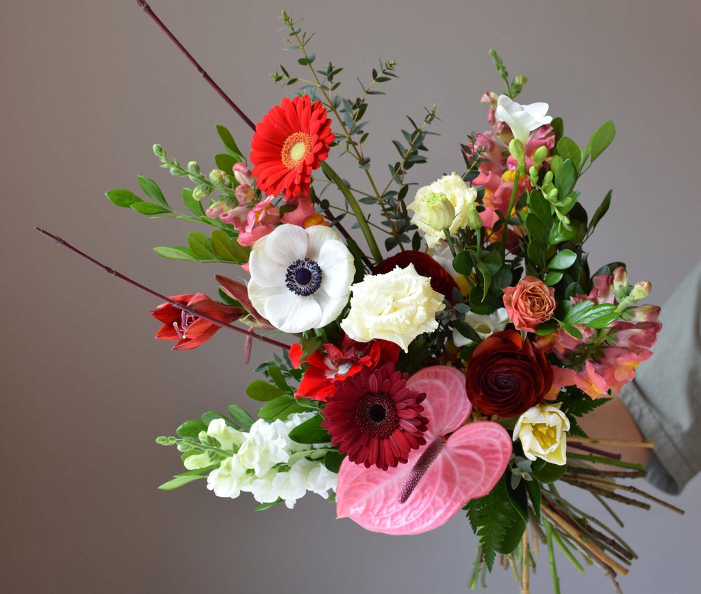 Hand-Tied Bouquet Workshop: April 26th (Sunday) from 1:30PM - 4:00PM