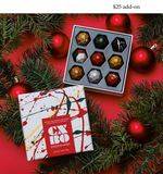 Box of CXBO festive chocolates