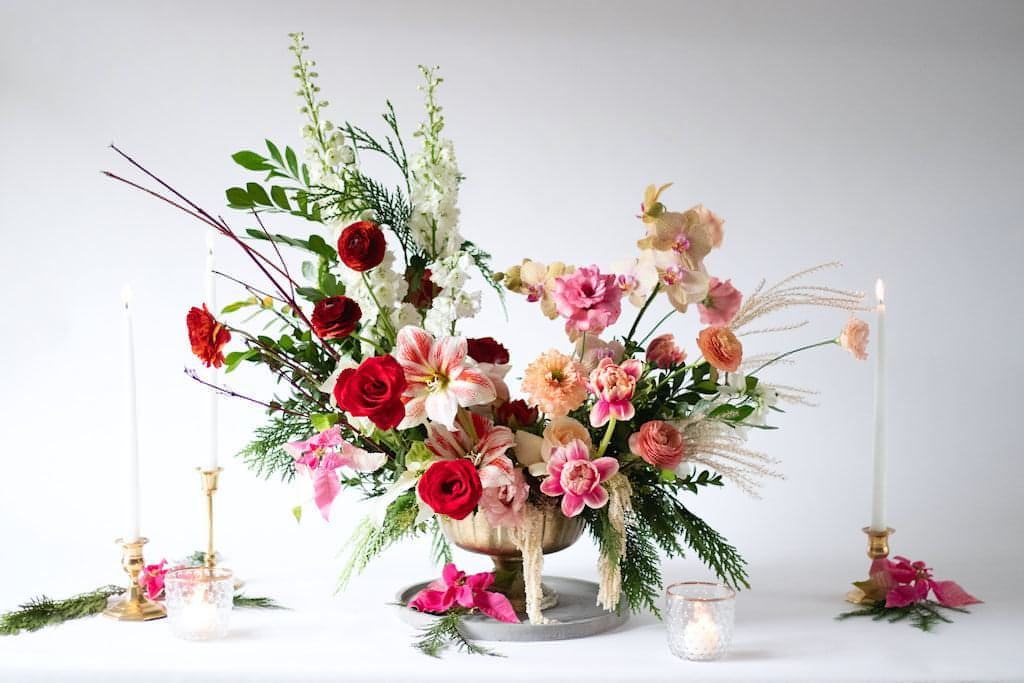 Ultimate Holiday Floral Arrangement