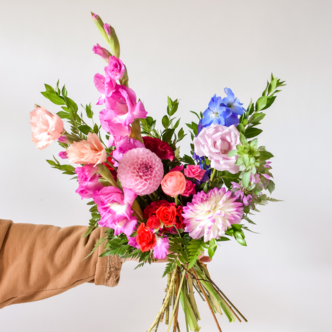 Virtual Workshop: Hand-Tied Bouquet (Flowers delivered to your door)