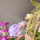 Virtual Workshop - Flowers Arrive Saturday, August 15th: Tall Glass Vase Arrangement