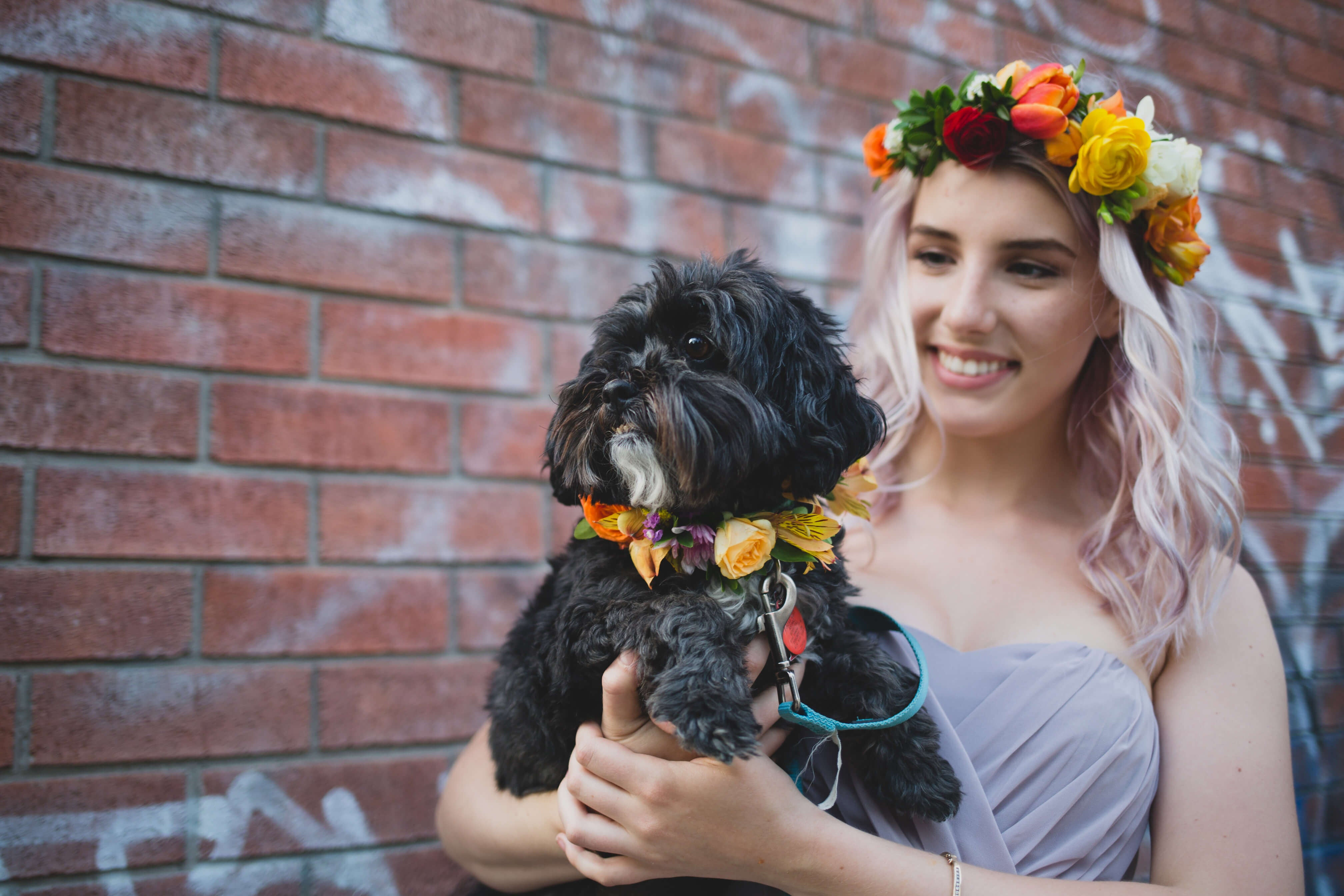 Toronto Florist - Flower Crown - Wedding Flowers