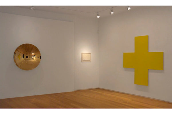 Installation view: With One Color, curated by Paul Frank McCabe, Van de Weghe Fine Art, New York, April 30 - June 30, 2011