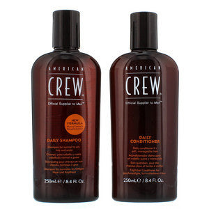 American Crew Gifts and Sets Daily Shampoo 250ml and Daily Conditioner 250ml