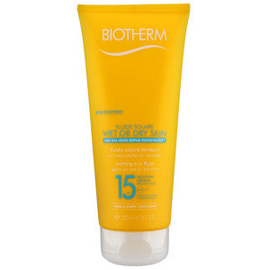 Biotherm Sun Care Fluide Solaire Wet or Dry SPF15 200ml