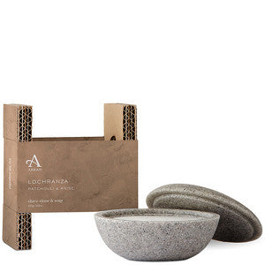 Arran Lochranza - Patchouli and Anise Shaving Stone and Soap 100g