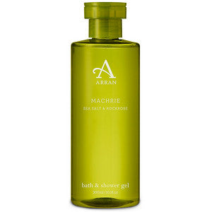 Arran Machrie - Sea Salt and Rockrose Bath and Shower Gel 300ml
