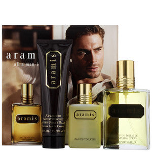 Aramis Aramis Eau de Toilette Spray 110ml, Eau de Toilette Splash 50ml and Aftershave Balm 100ml
