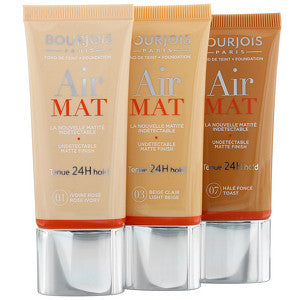 Bourjois Air Mat 24h Foundation T01 Rose Ivory 30ml