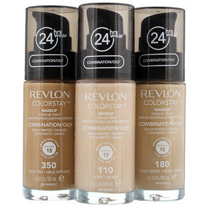 Revlon ColorStay Foundation Oily/Combination Skin 350 Rich Tan SPF15 30ml