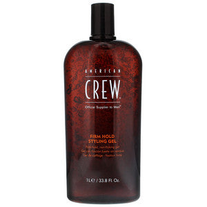 American Crew Style Firm Hold Styling Gel Salon Size 1000ml