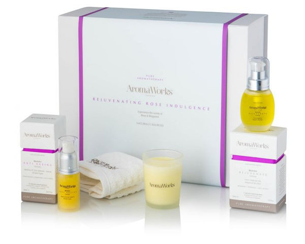 AromaWorks Rejuvenating Rose Indulgence Set