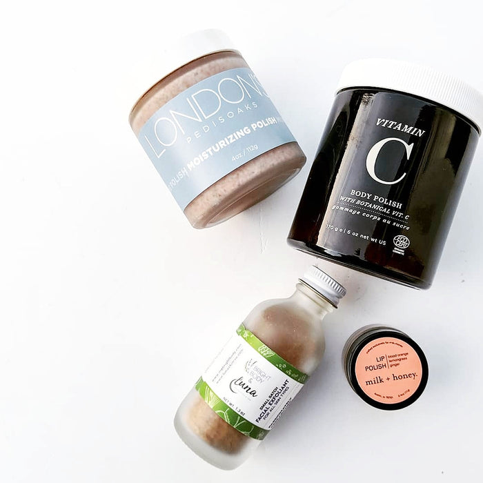 BEST EXFOLIATORS: FROM HEAD TO TOE