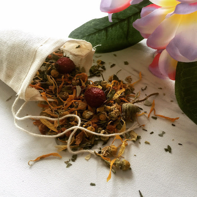 PRODUCT SPOTLIGHT: FLOWER POWER FOOT TEA