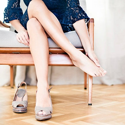 FOOT FRUSTRATION: HIGH HEELS