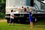 CLAMP ON VersaHoop: Trampoline, Boats, Tailgating, More
