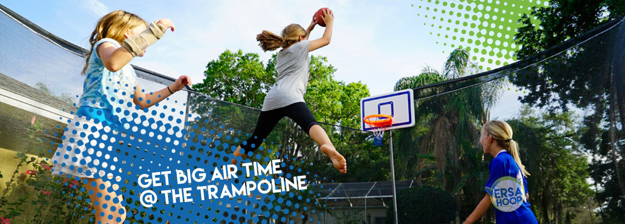 Build A Hoop For Trampolines