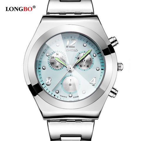 CLASSY Waterproof Stainless Steel Quartz Watch!!!