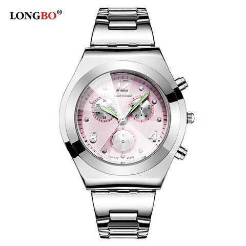 CLASSY Waterproof Stainless Steel Quartz Watch!!! - Victoria Vault