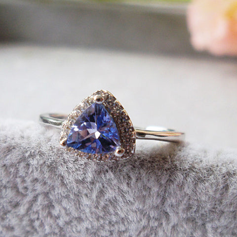 Perfect Tempest Tanzanite Ring