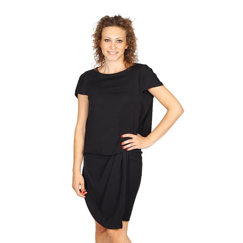 Armani Collezioni ladies shirt short sleeve without buttons RMC17T RM332 999