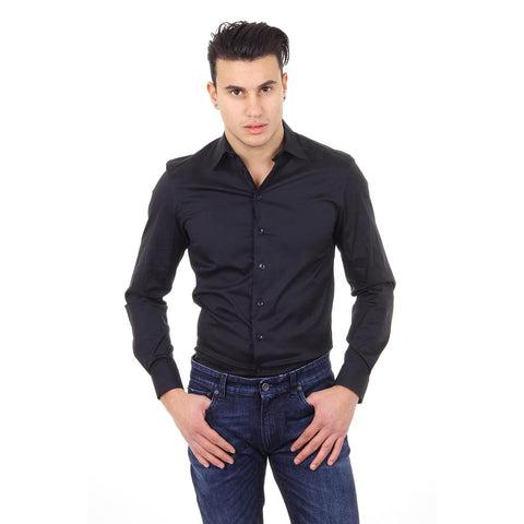 Armani Collezioni mens shirt long sleeve PCSS0L PC0F0 999